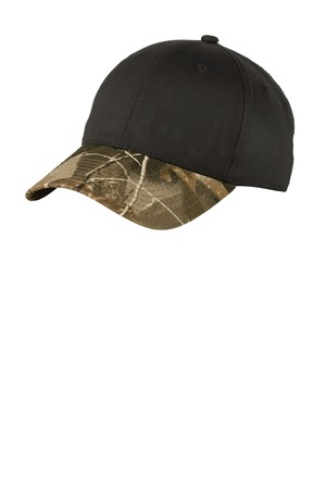 Port Authority® C931 - Twill Cap with Camouflage ...