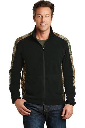 Port Authority® F230C-Camouflage Microfleece Full-...