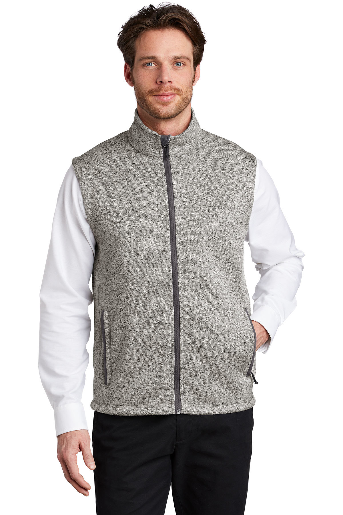 Port Authority F236 - Sweater Fleece Vest