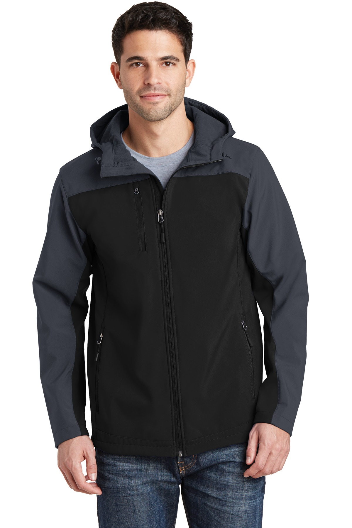 Port Authority  J335 - Hooded Core Soft Shell Jacket