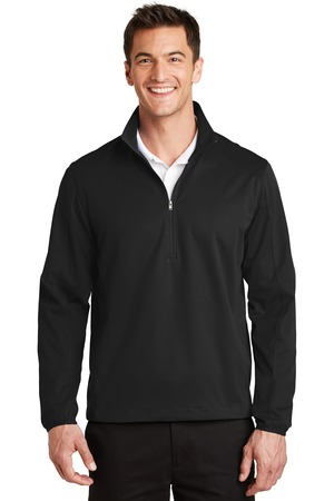 Port Authority® J716 - Active Half Zip Soft Shell ...
