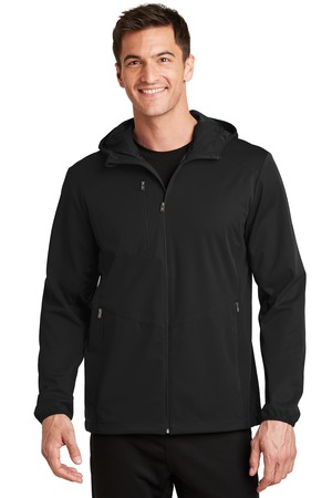 Port Authority® J719 - Active Hooded Soft Shell ...