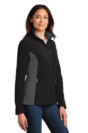 Port Authority® L216-Ladies Colorblock Value Fleece Jacket