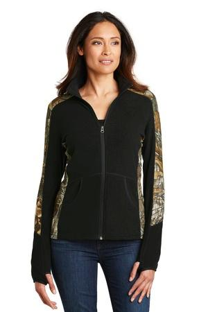Port Authority® L230C-Ladies Camouflage Microfleece Full-Zip Jacket