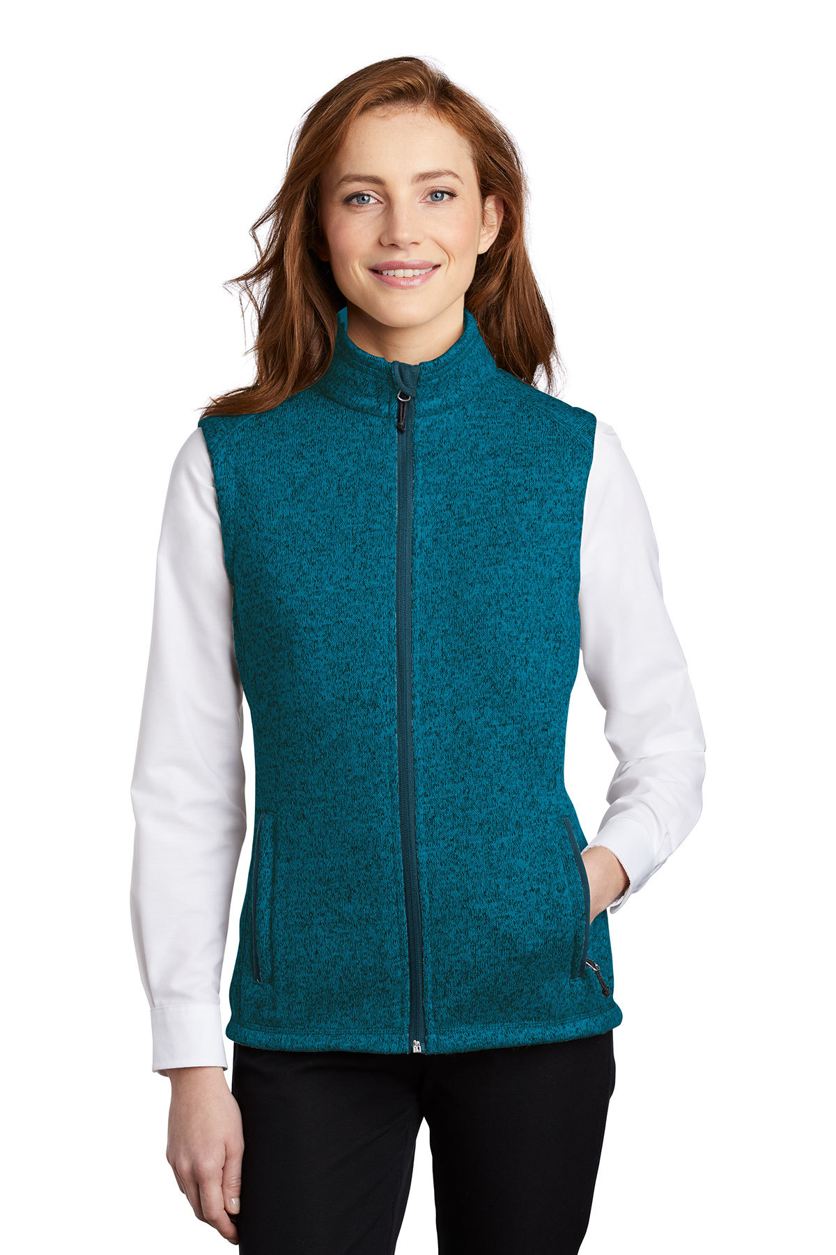 Port Authority L236 - Ladies Sweater Fleece Vest