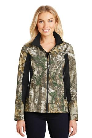 Port Authority® L318C-Ladies Camouflage Colorblock Soft Shell