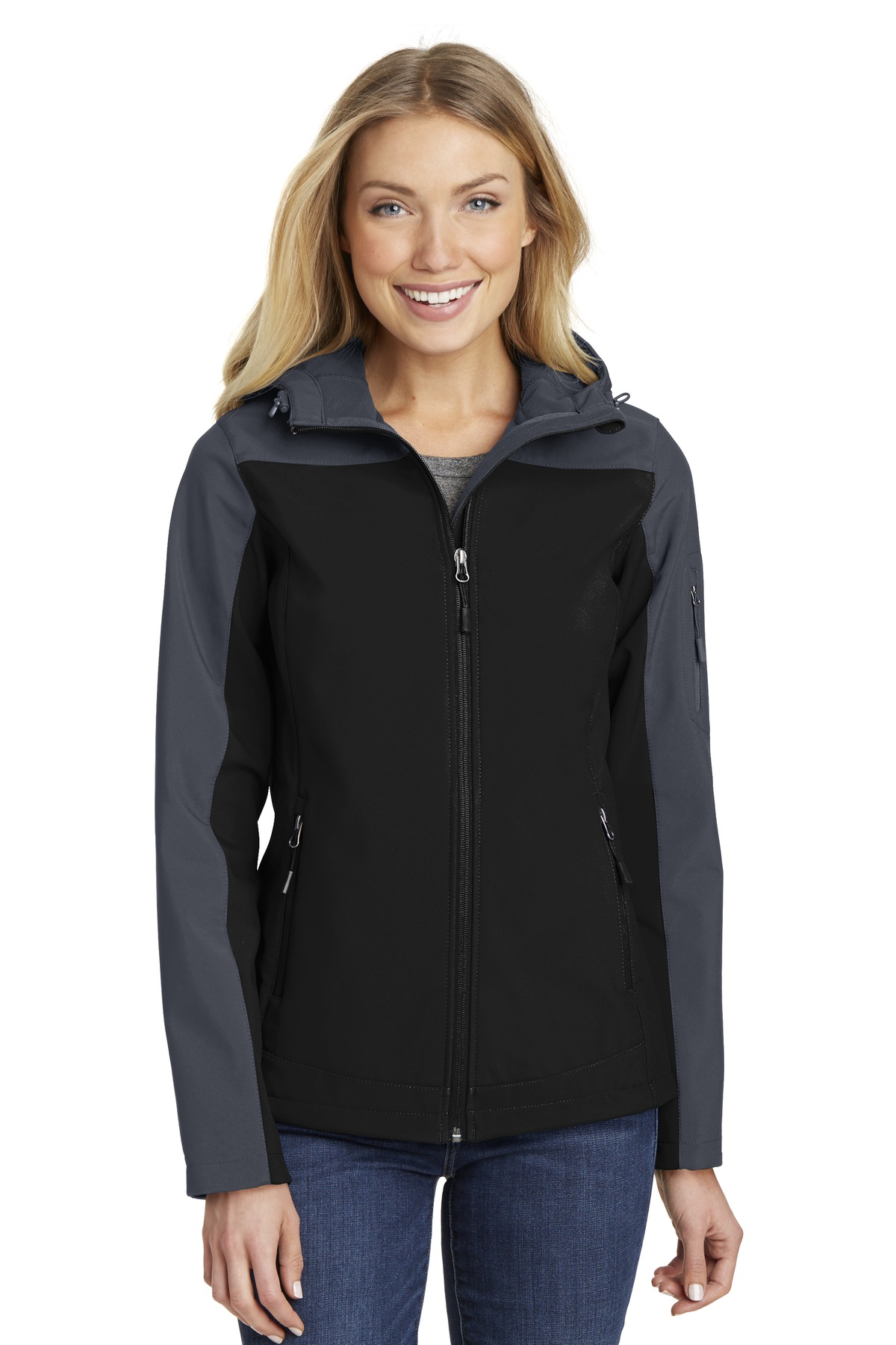 Port Authority  L335 - Ladies Hooded Core Soft Shell Jacket