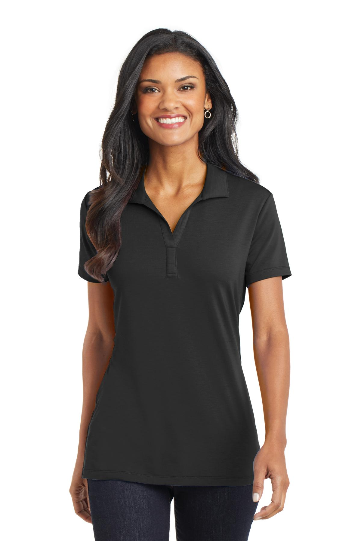 Port Authority® L568 - Ladies Cotton Touch Performance ...