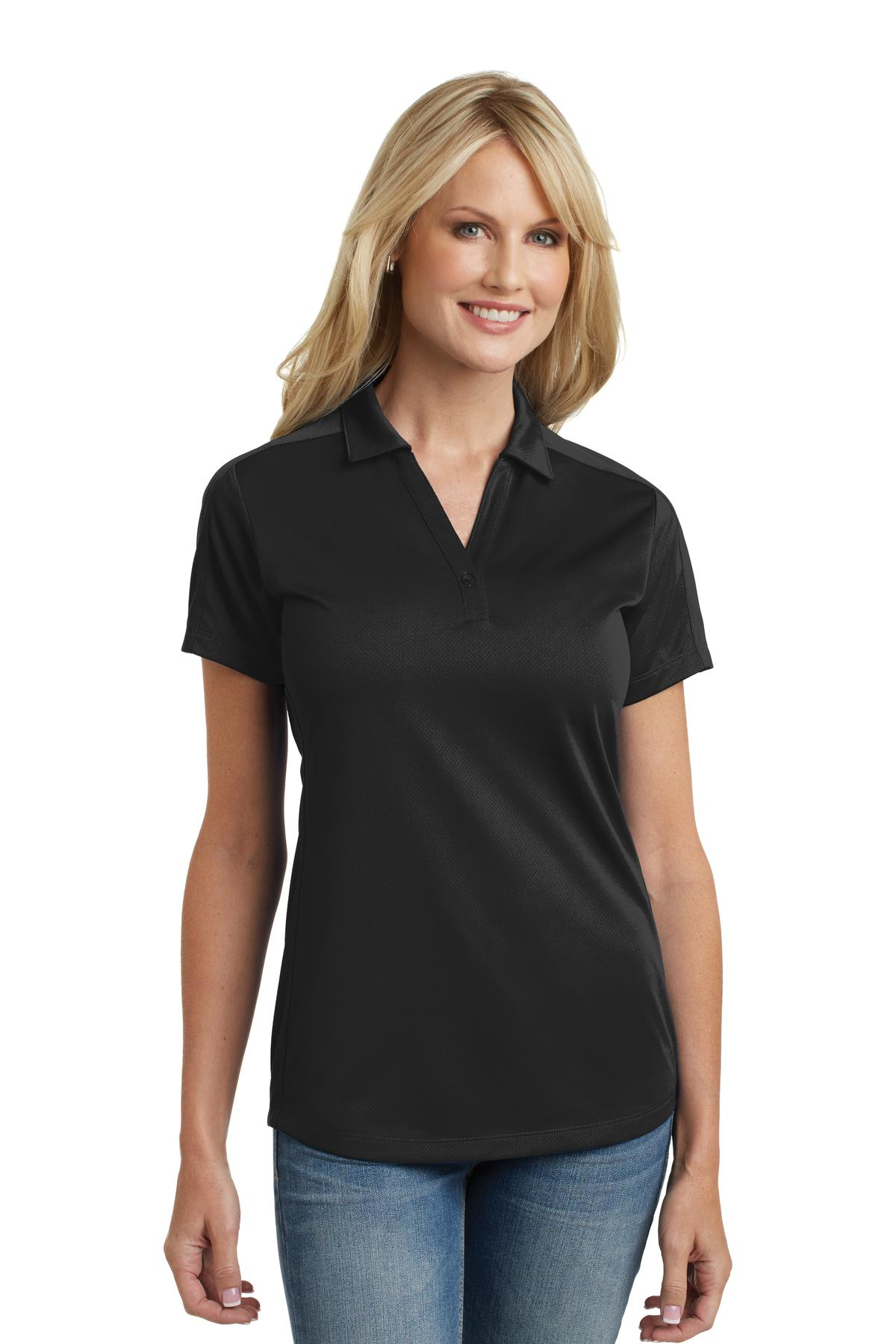 Port Authority® L569 - Ladies Diamond Jacquard Polo