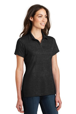 Port Authority® L577-Ladies Meridian Cotton Blend ...