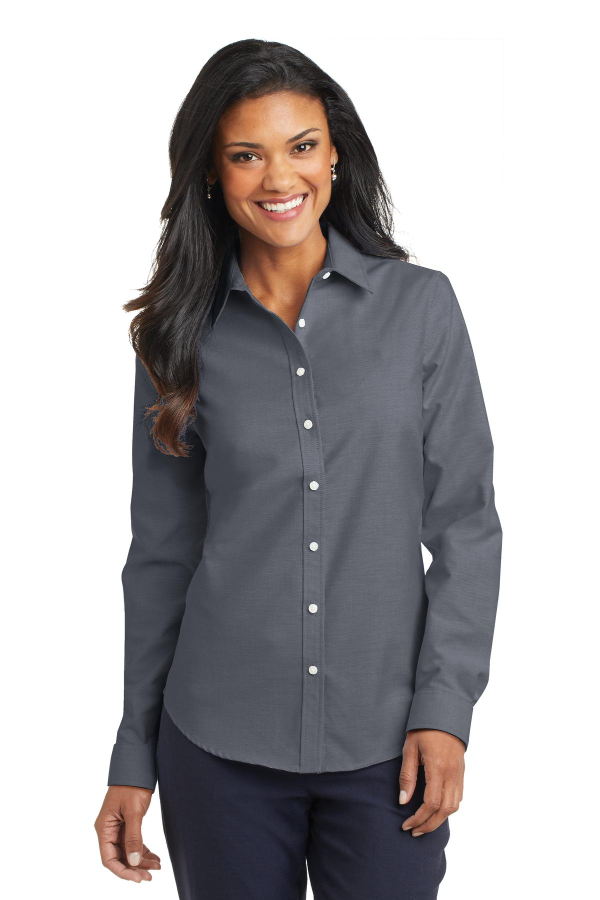 Port Authority® L658 - Ladies SuperPro Oxford Shirt