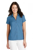 Port Authority® L662 - Ladies Textured Camp Shirt