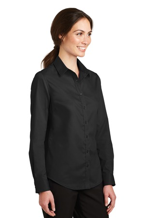 Port Authority® L663-Ladies SuperPro™ Twill Shirt