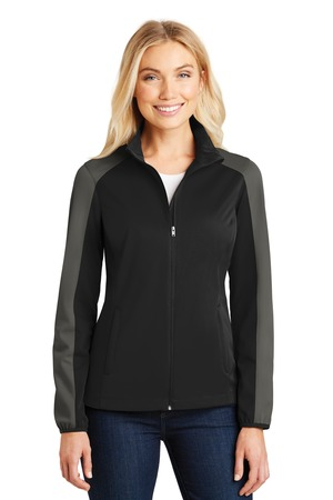 Port Authority® L718 - Ladies Active Colorblock Soft Shell Jacket