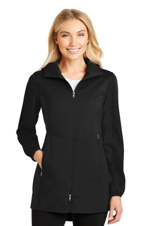 Port Authority® L719 - Ladies Active Hooded Soft ...