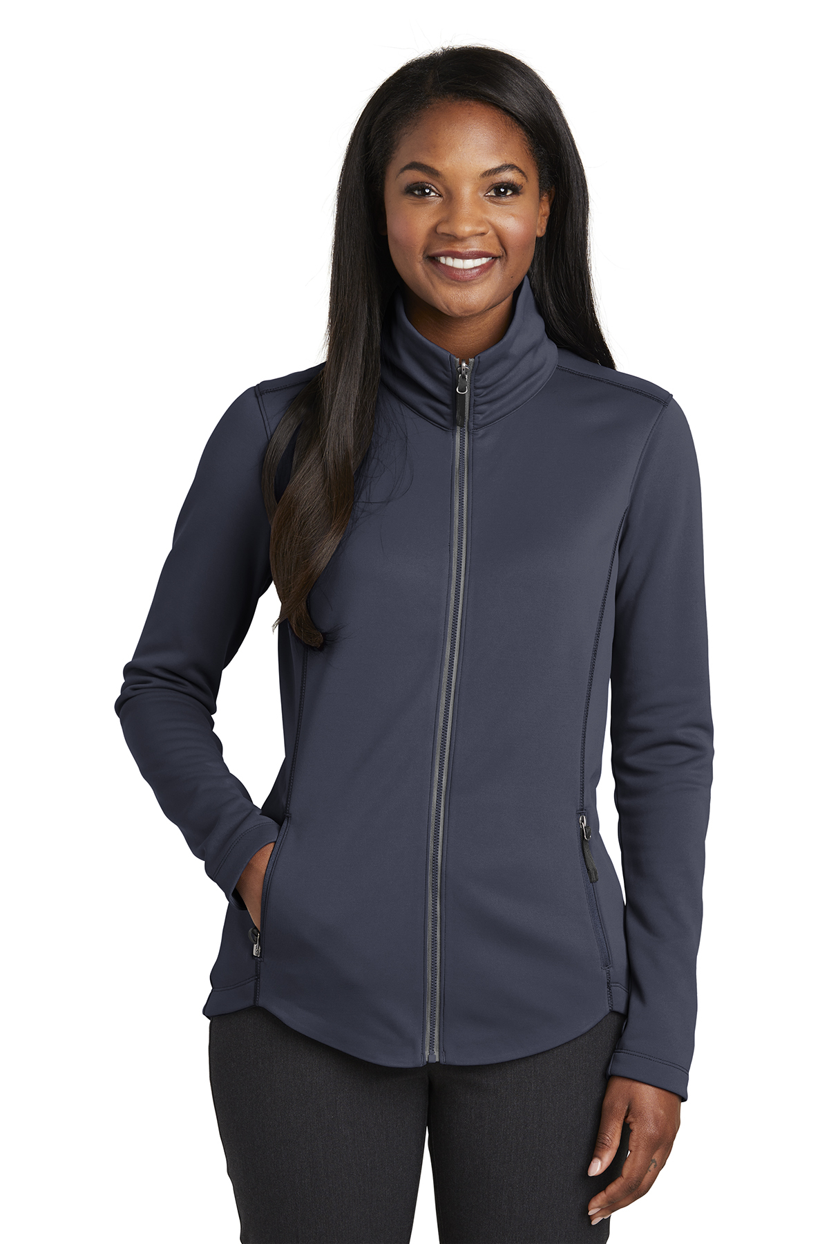 Port Authority L904 - Ladies Collective Smooth Fleece ...