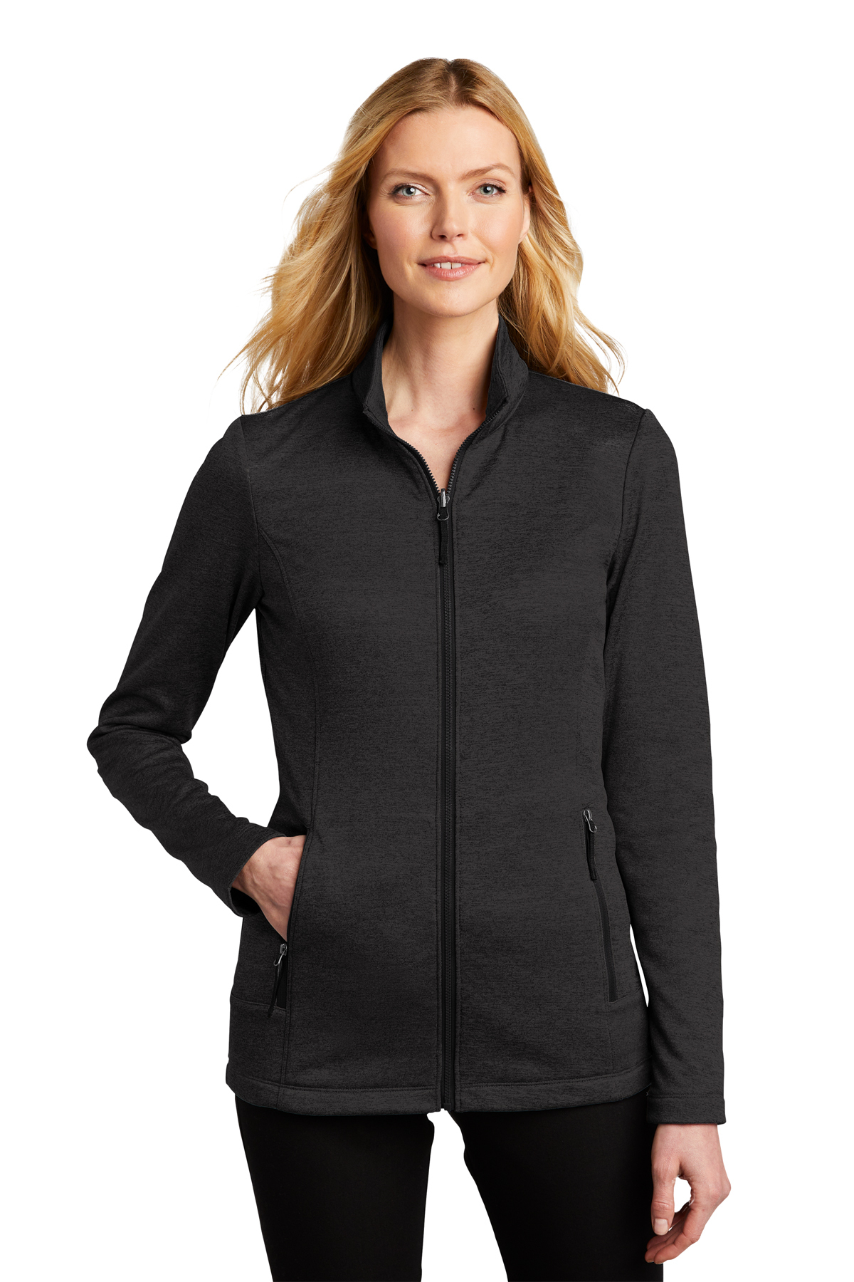 Port Authority® - L905 - Ladies Collective Striated Fleece Jacket