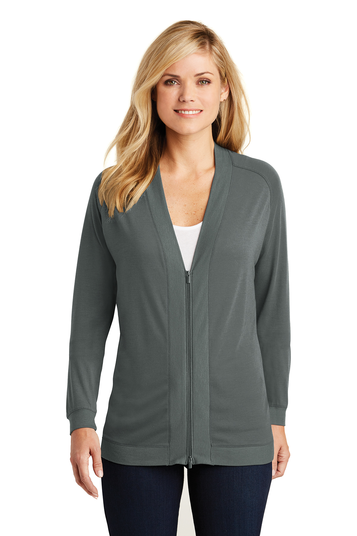Port Authority LK5431 - Ladies Concept Bomber Cardigan