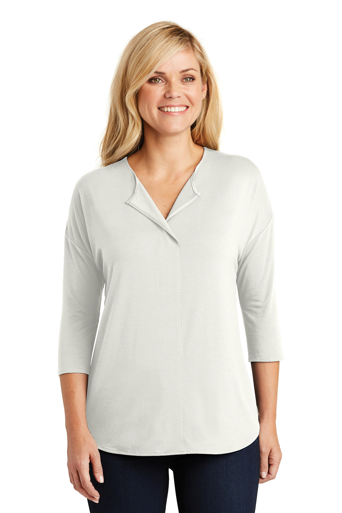 Port Authority LK5433 - Ladies Concept 3/4-Sleeve Soft ...