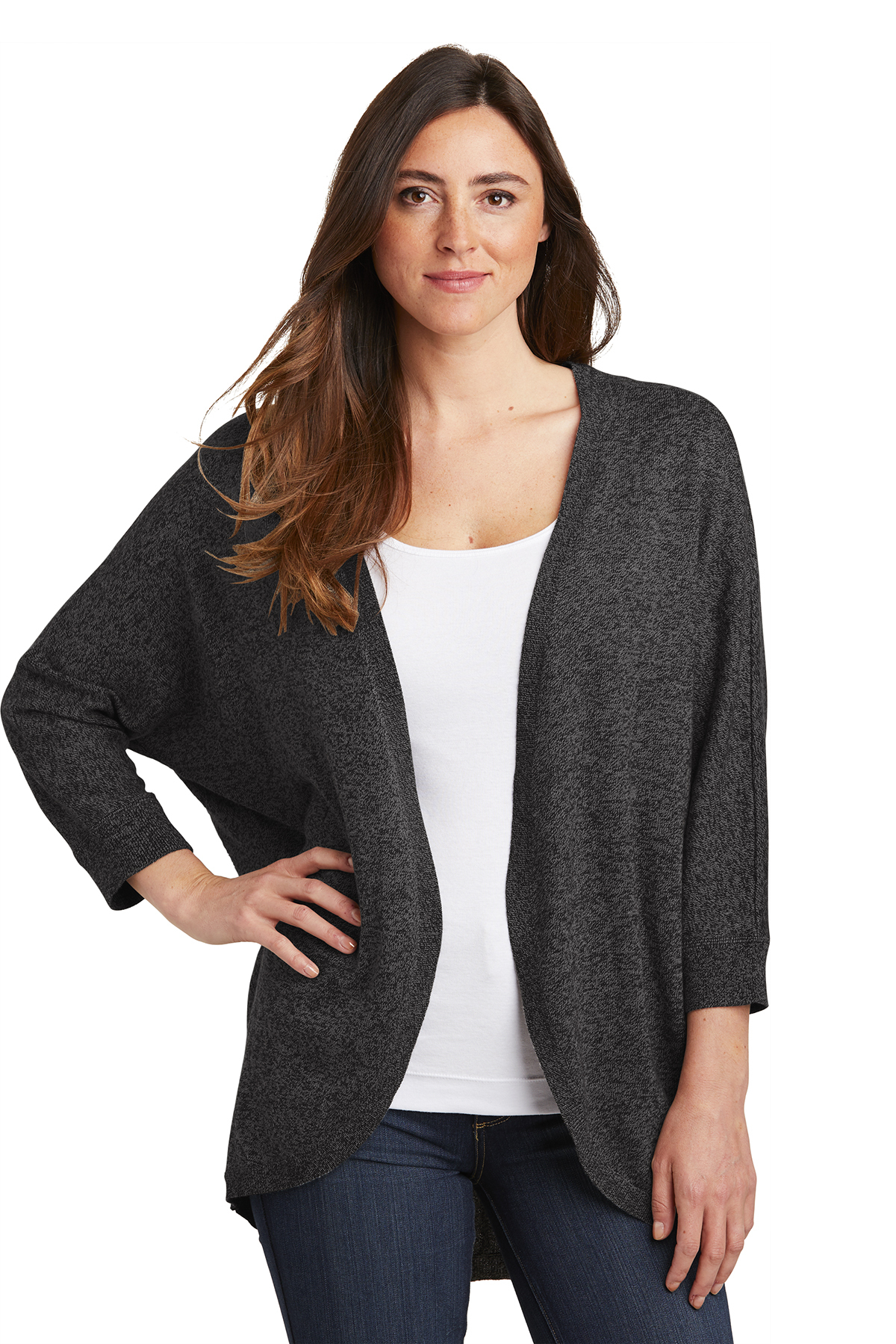 Port Authority LSW416 - Ladies Marled Cocoon Sweater