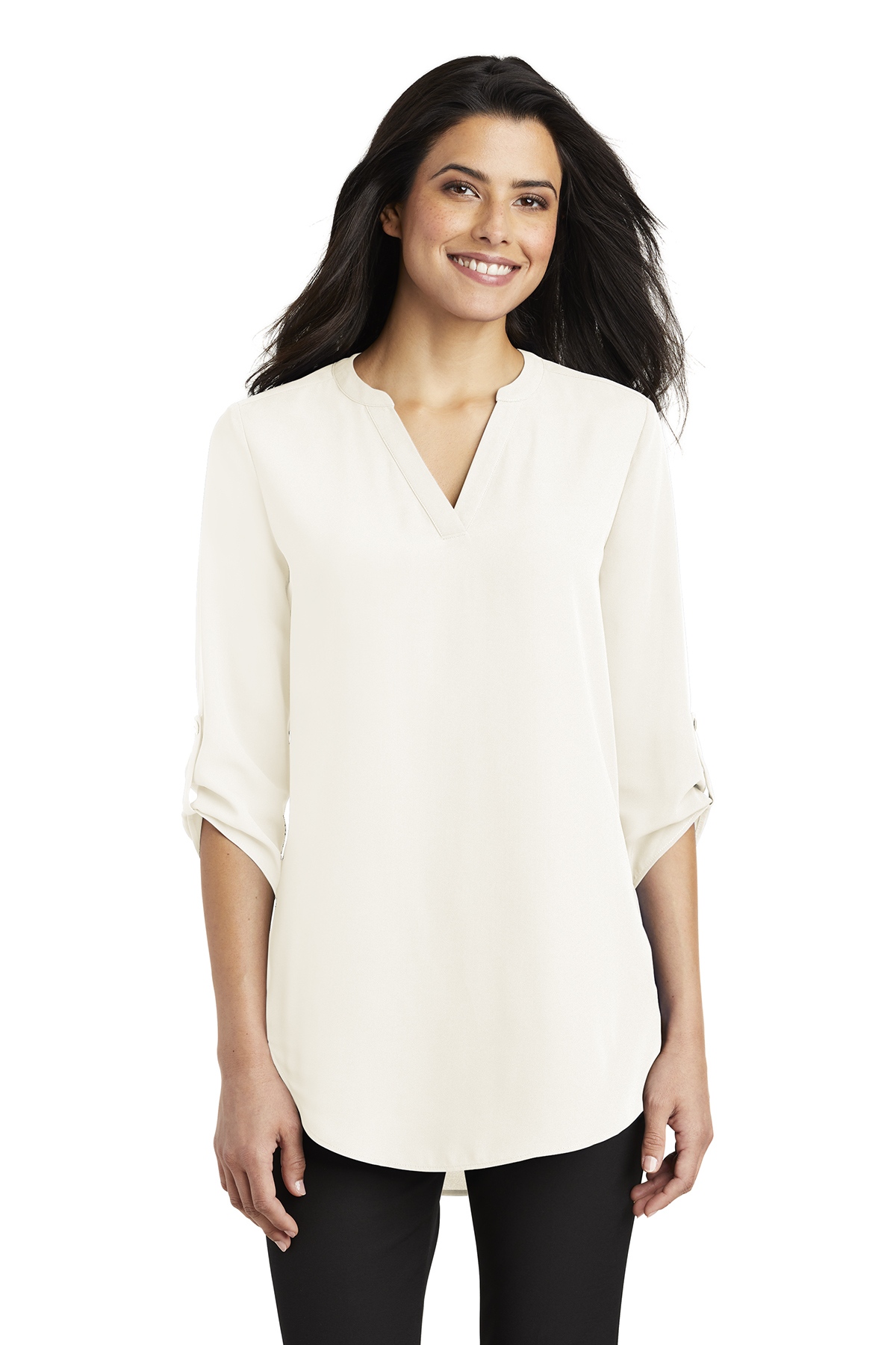 Port Authority LW701 - Ladies 3/4-Sleeve Tunic Blouse