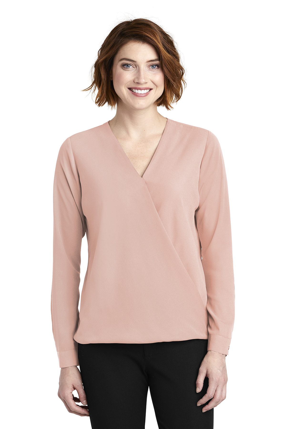 Port Authority LW702 - Ladies Wrap Blouse