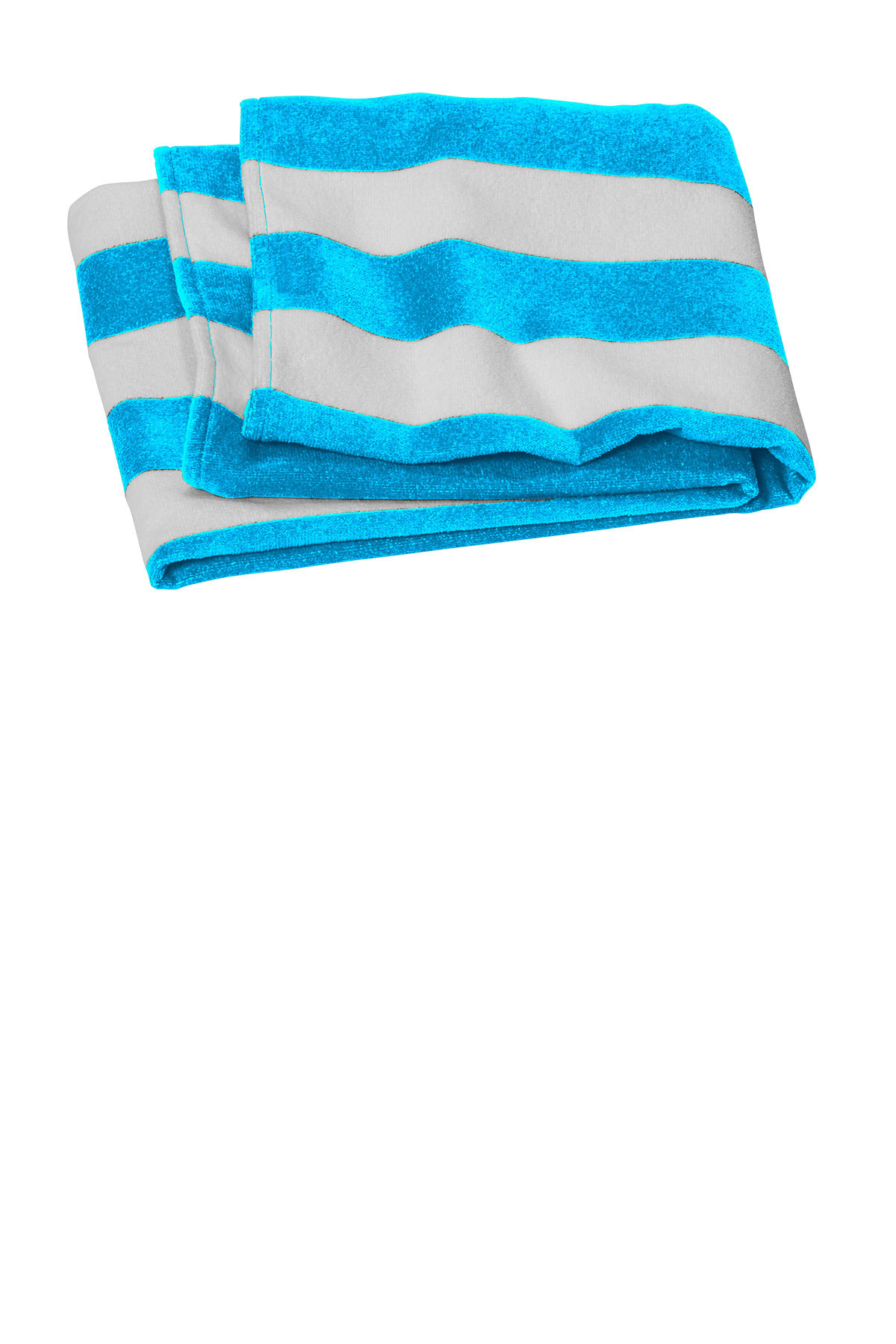Port Authority PT45 - Value Cabana Stripe Beach Towel