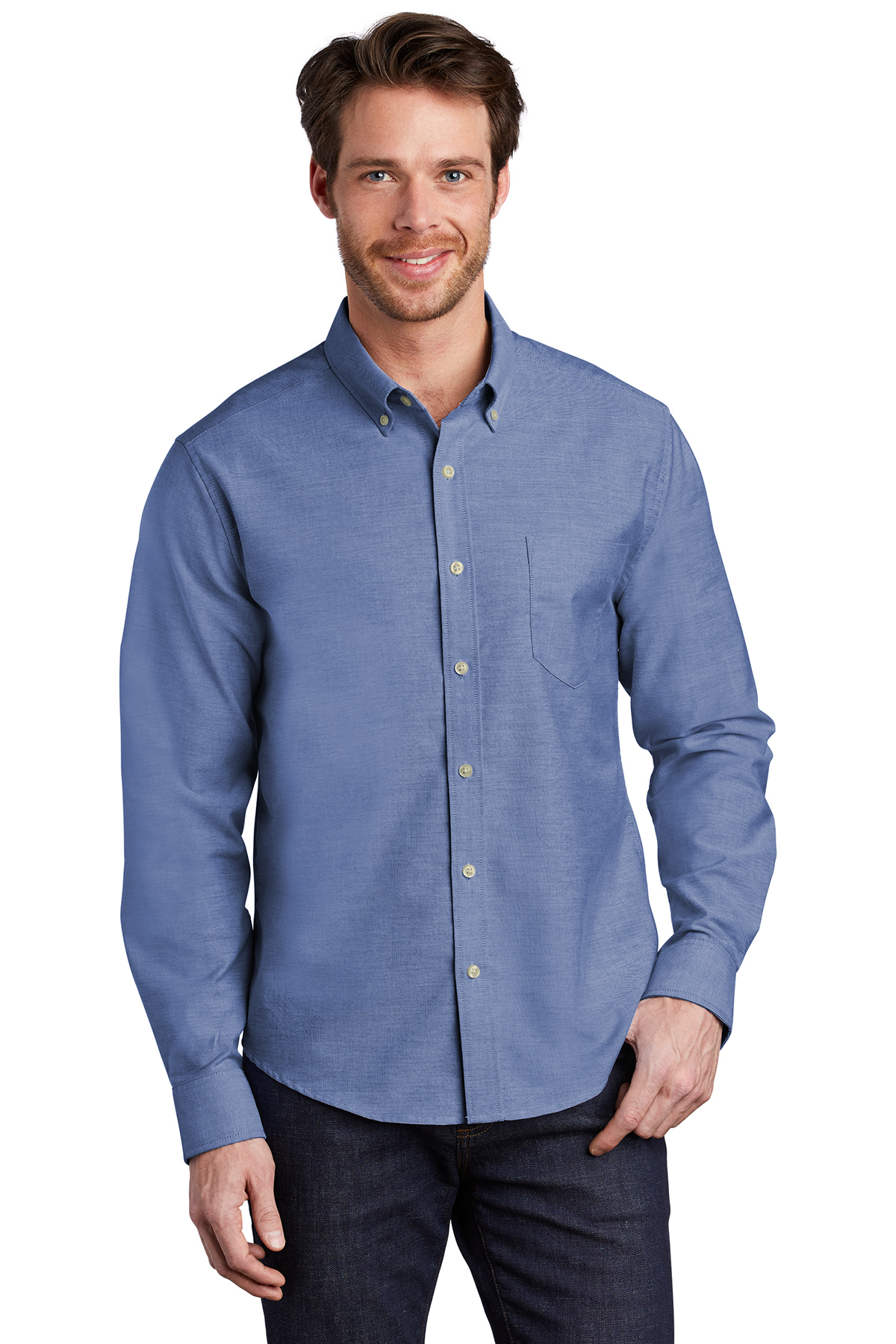 Port Authority S651 - Untucked Fit SuperPro Oxford Shirt