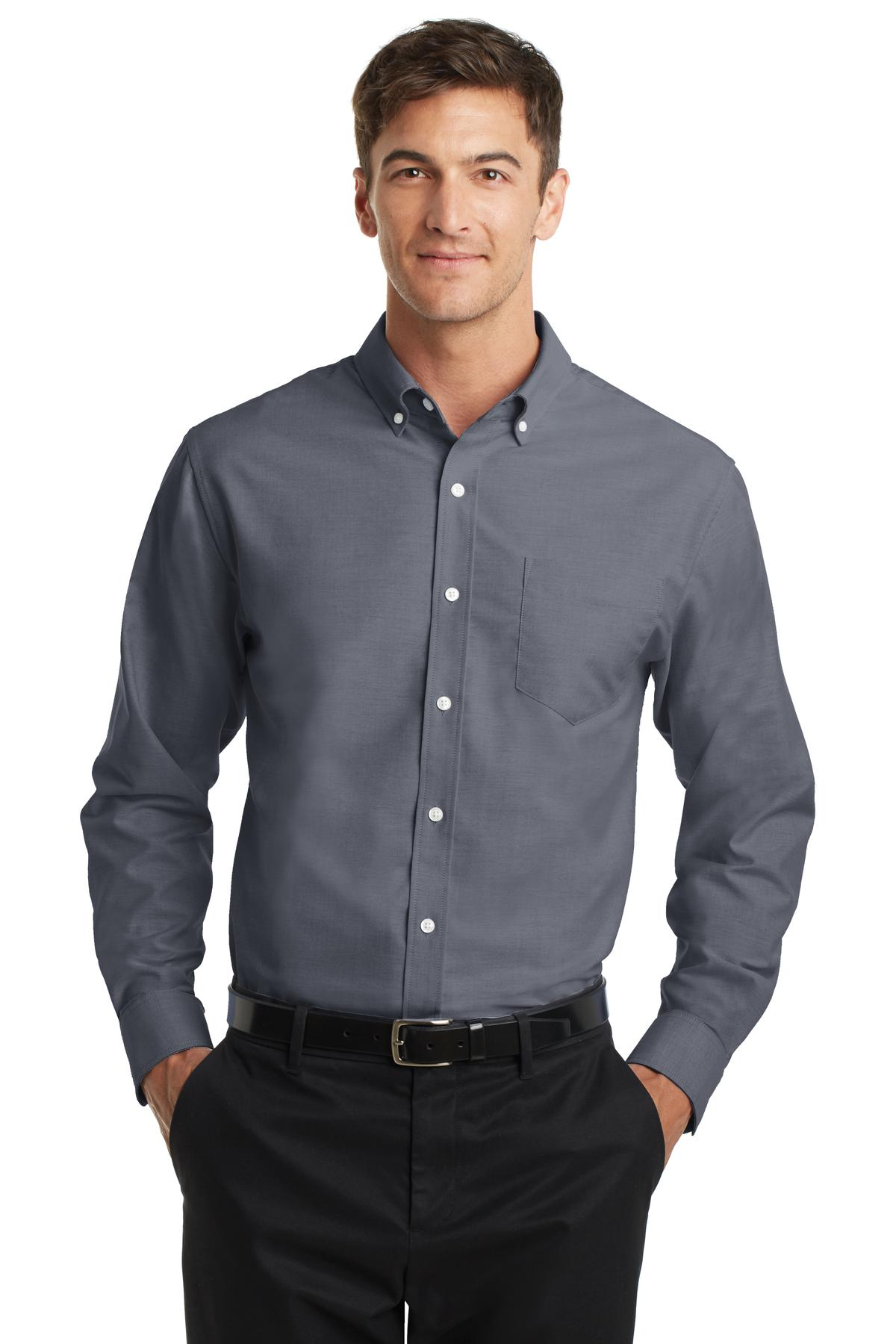 Port Authority® S658 - SuperPro Oxford Shirt