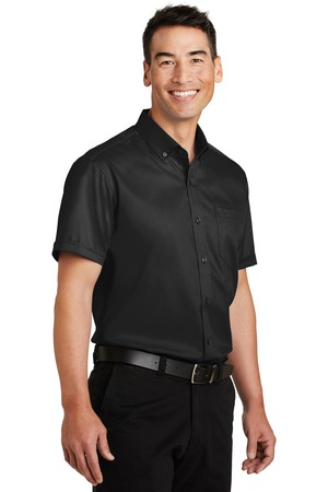 Port Authority® S664-Short Sleeve SuperPro™ ...