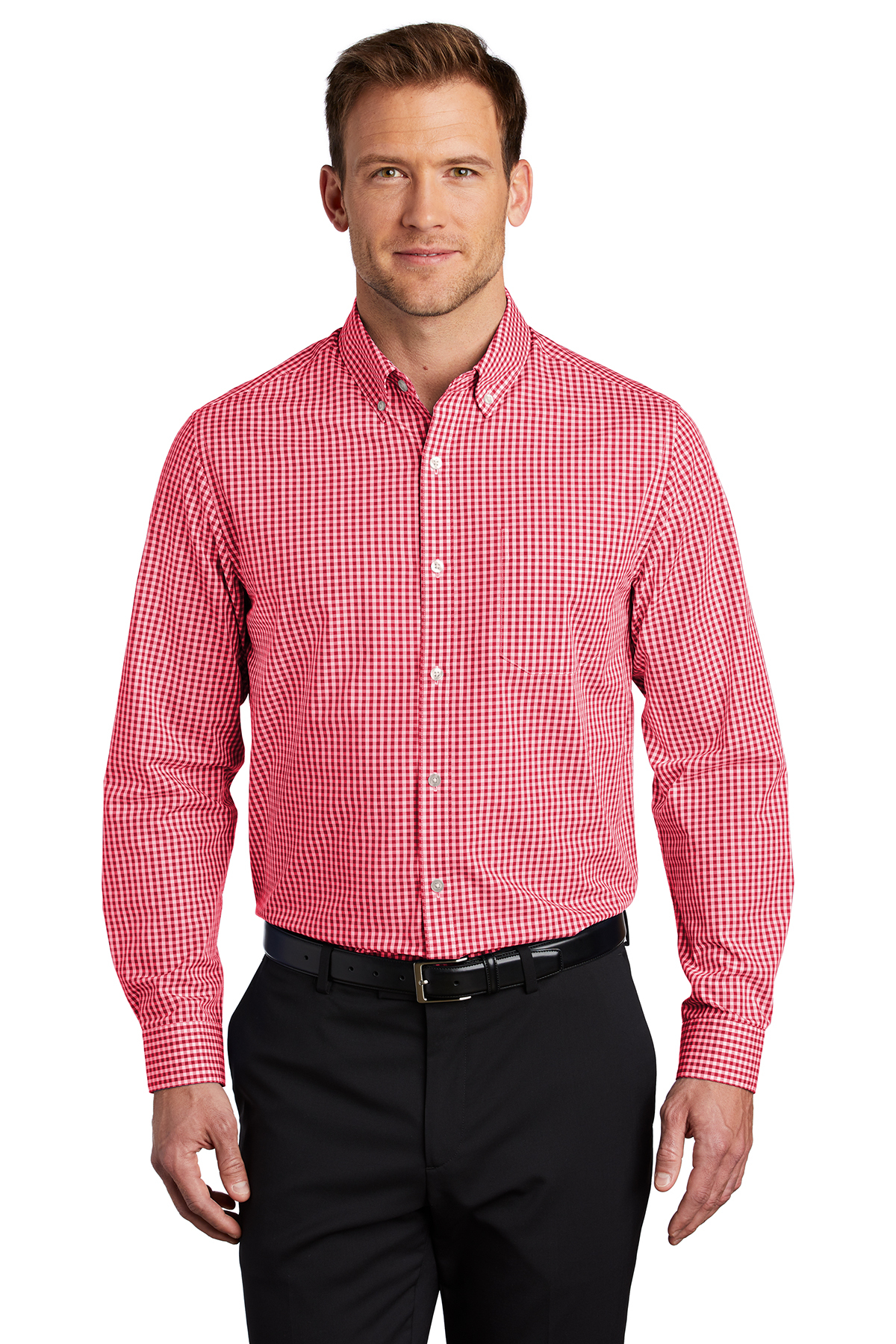 Port Authority W644 - Broadcloth Gingham Easy Care Shirt