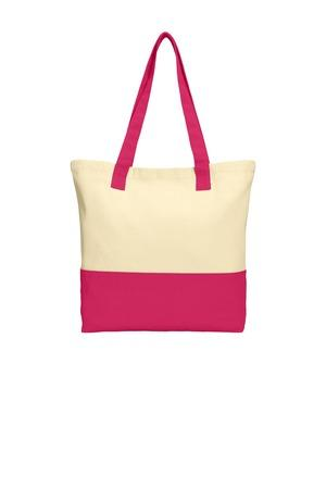 Port Authority BG414 - Colorblock Cotton Tote