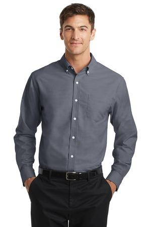 Port Authority TS658 - Men's Tall SuperPro Oxford Shirt