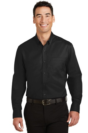 Port Authority TS663 - Men's Shirt Tall SuperPro Twill ...