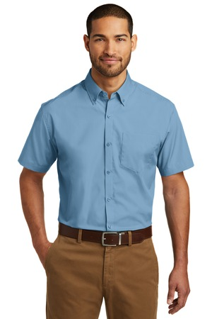 Port Authority W101 - Short Sleeve Carefree Poplin Shirt