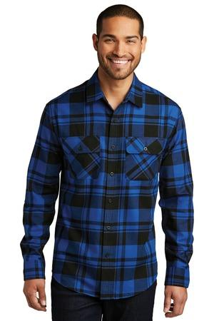 Port Authority W668 - Plaid Flannel Shirt