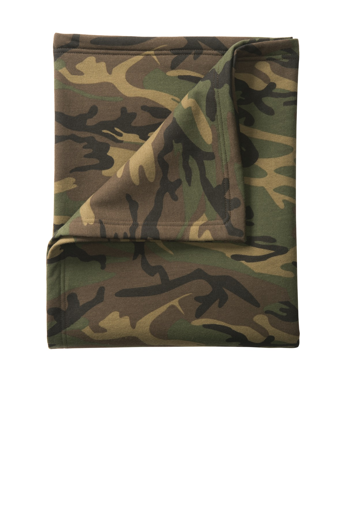 Port & Company  BP78C - Camo Sweatshirt Blanket