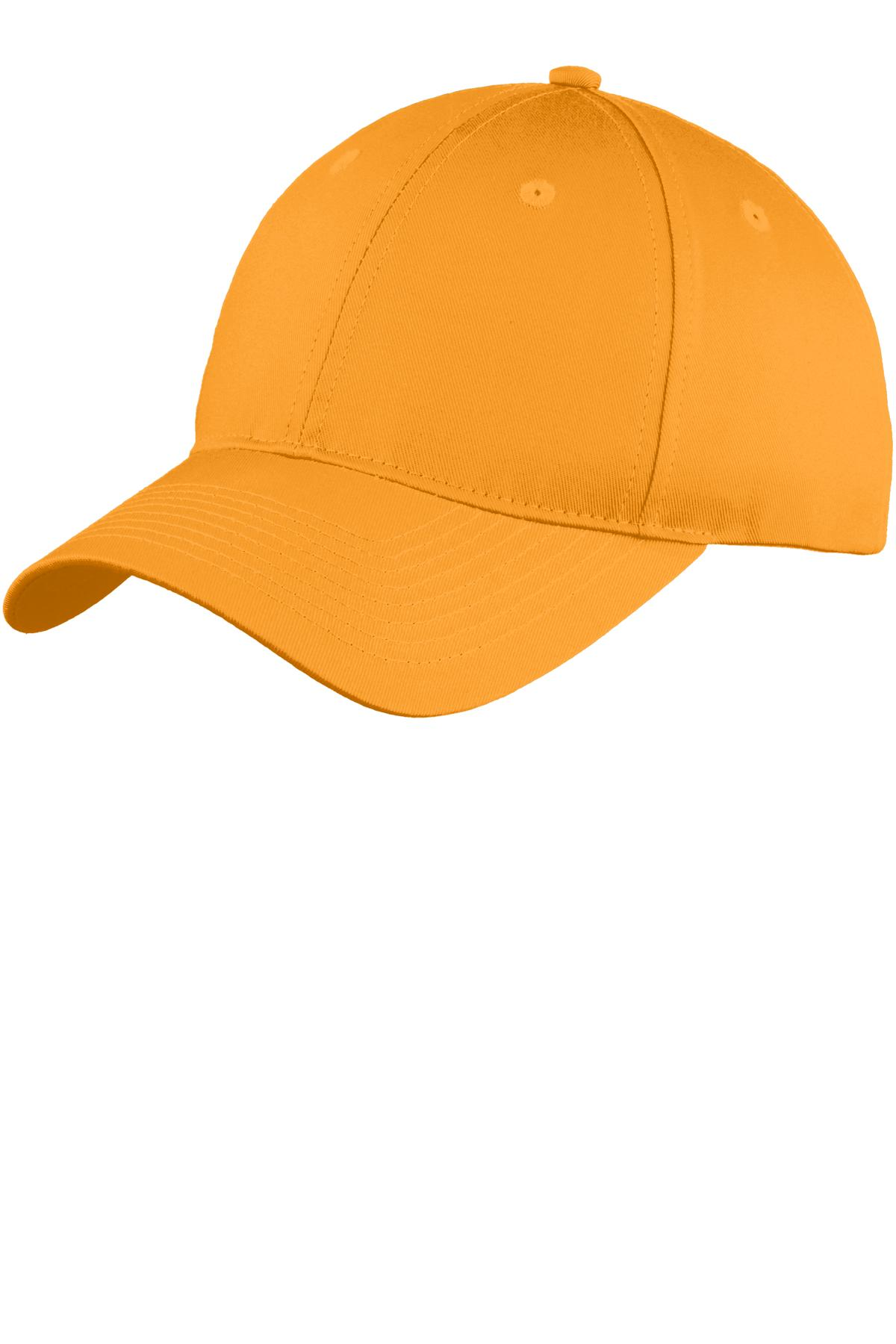 Port & Company® C914 - Six-Panel Unstructured Twill Cap