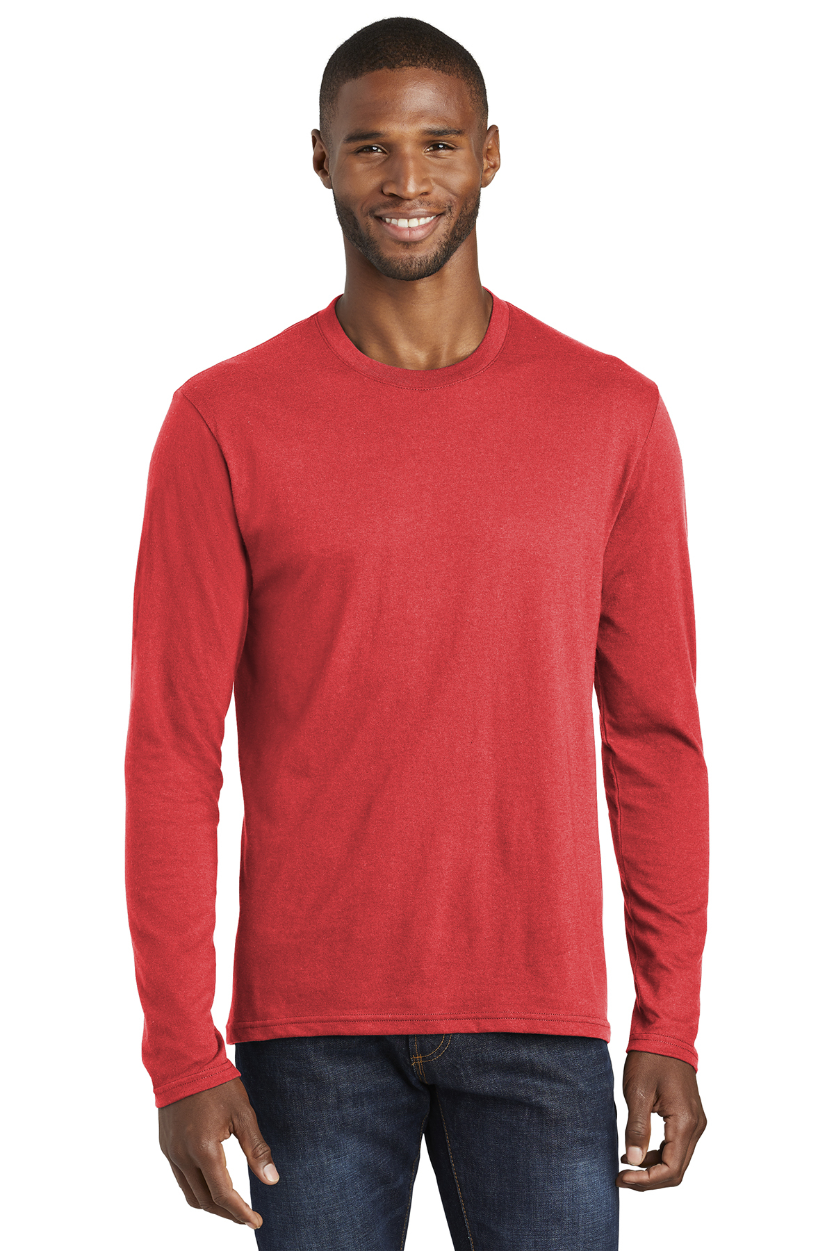 Port & Company PC455LS - Long Sleeve Fan Favorite™ Blend Tee