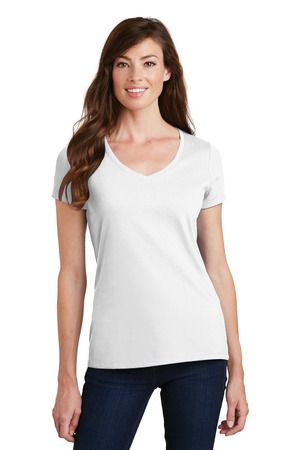 Port & Company® LPC-Ladies Fan Favorite V-Neck Tee