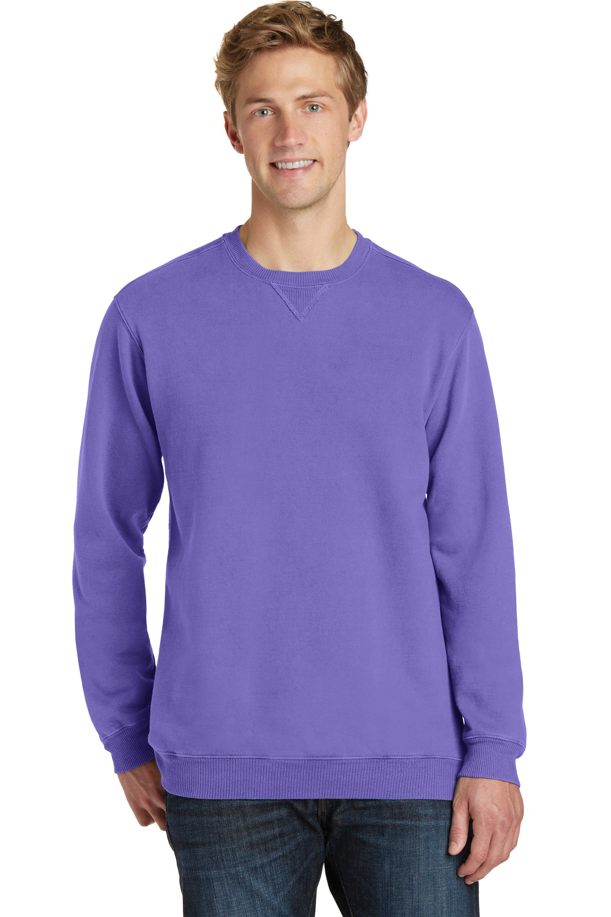 Port & Company  PC098 - Essential Pigment-Dyed Crewneck ...