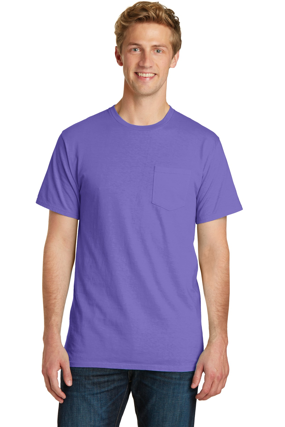 Port & Company  PC099P - Essential Pigment-Dyed Pocket Tee