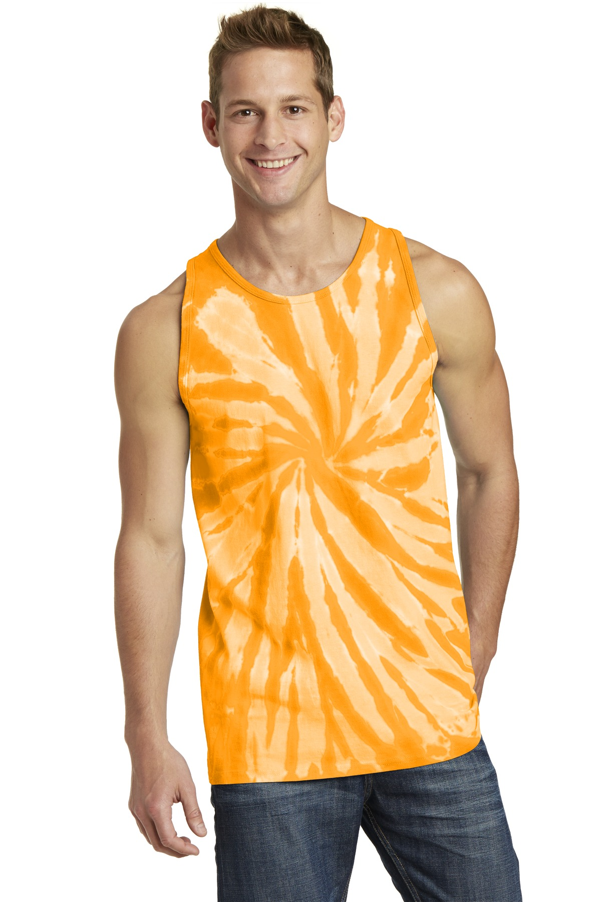 Port & Company  PC147TT - Essential Tie-Dye Tank Top