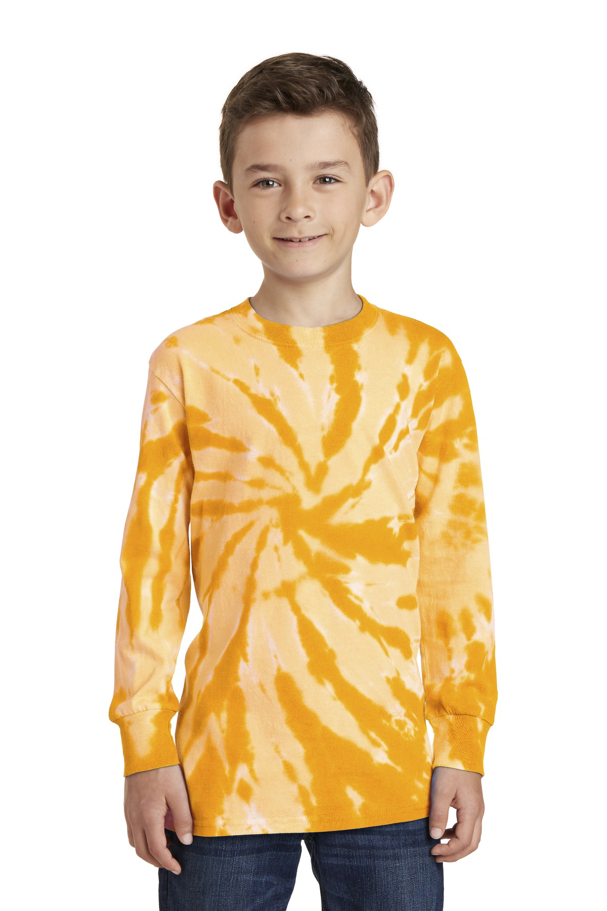 Port & Company  PC147YLS - Youth Essential Tie-Dye Long ...