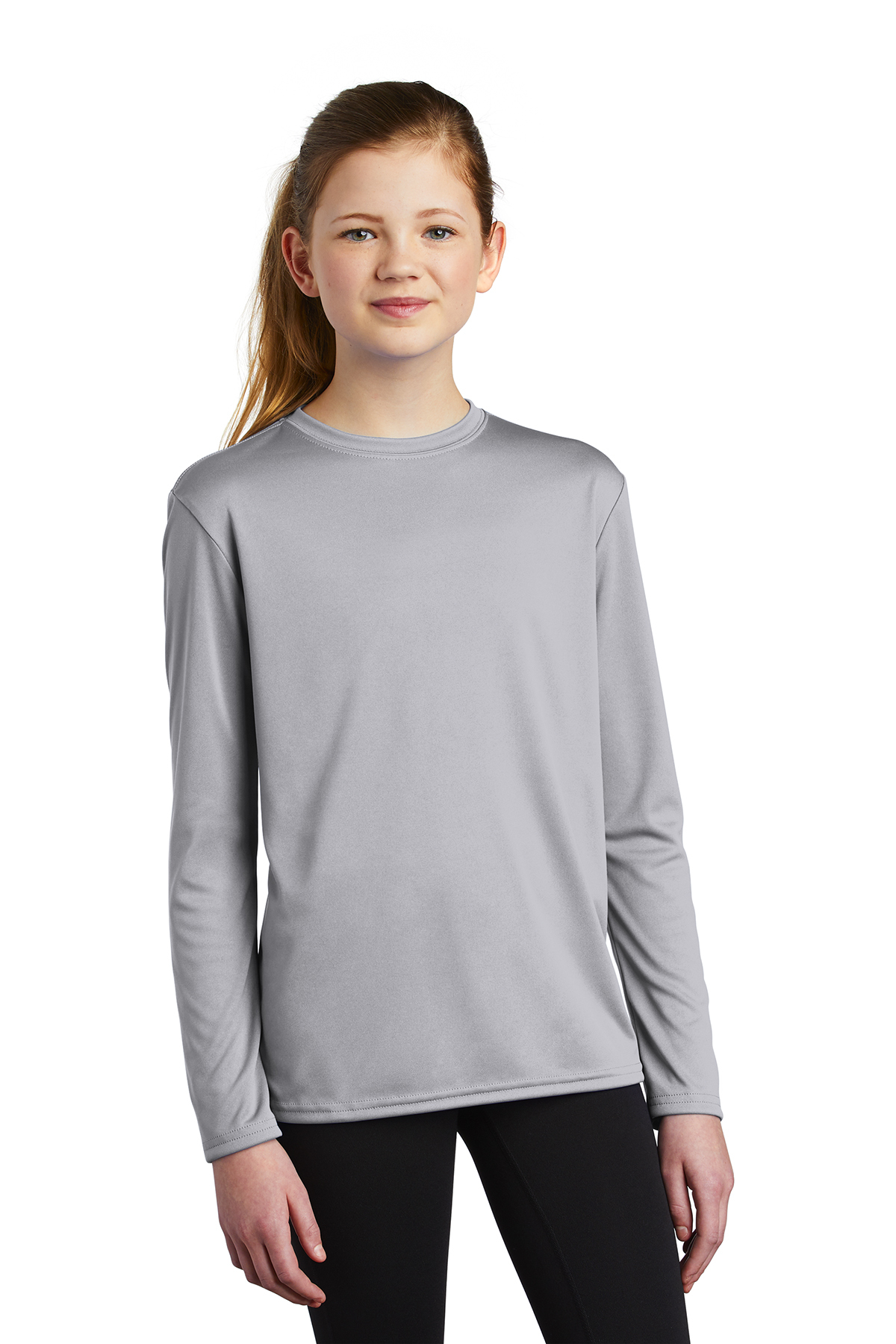 Port & Company PC380YLS - Youth Long Sleeve Performance ...