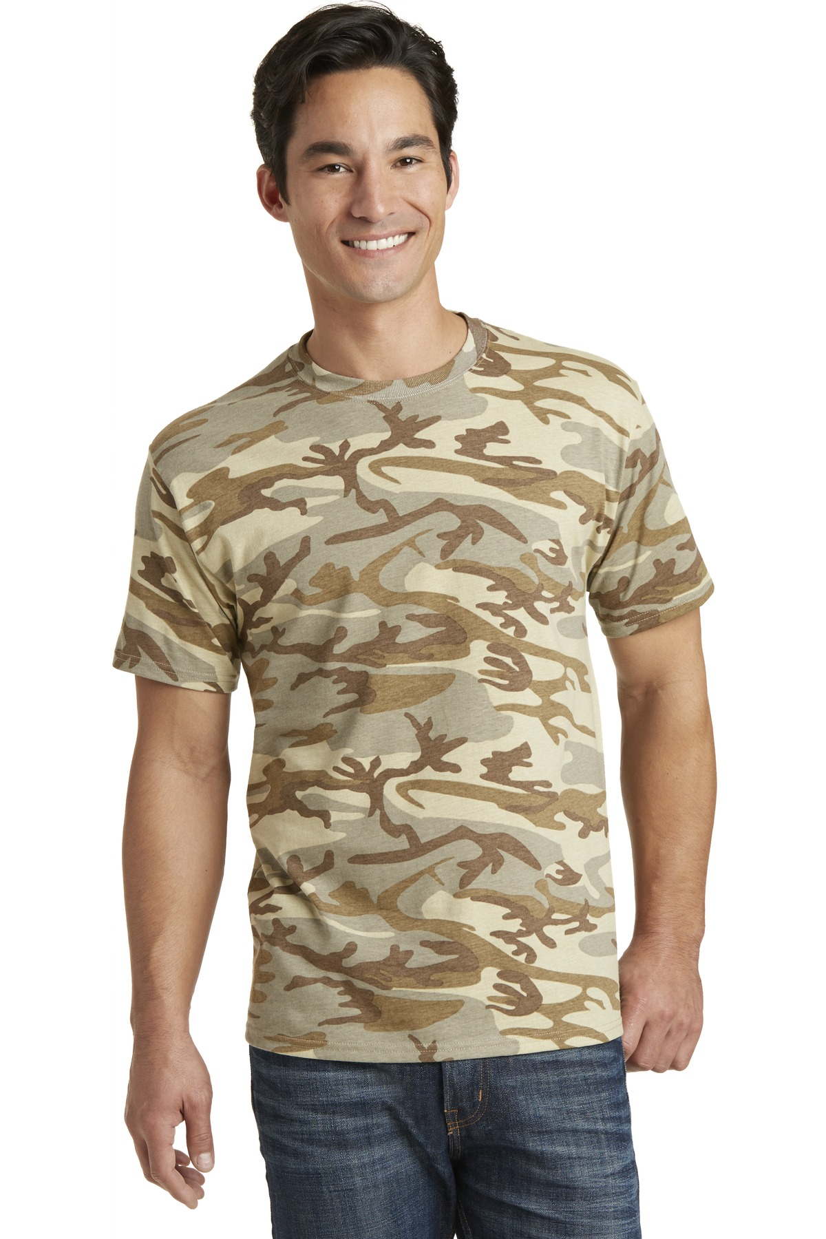 Port & Company  PC54C - 5.4-Oz 100% Cotton Camo Tee