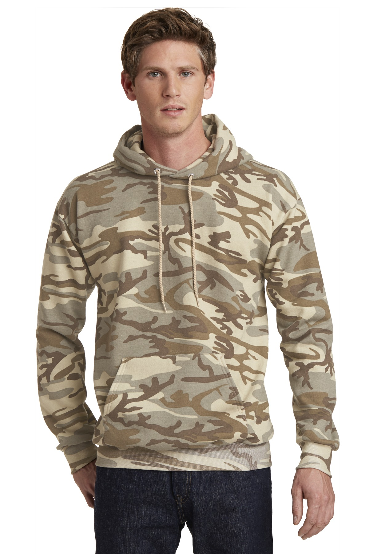 Port & Company  PC78HC - Classic Camo Pullover Hooded ...