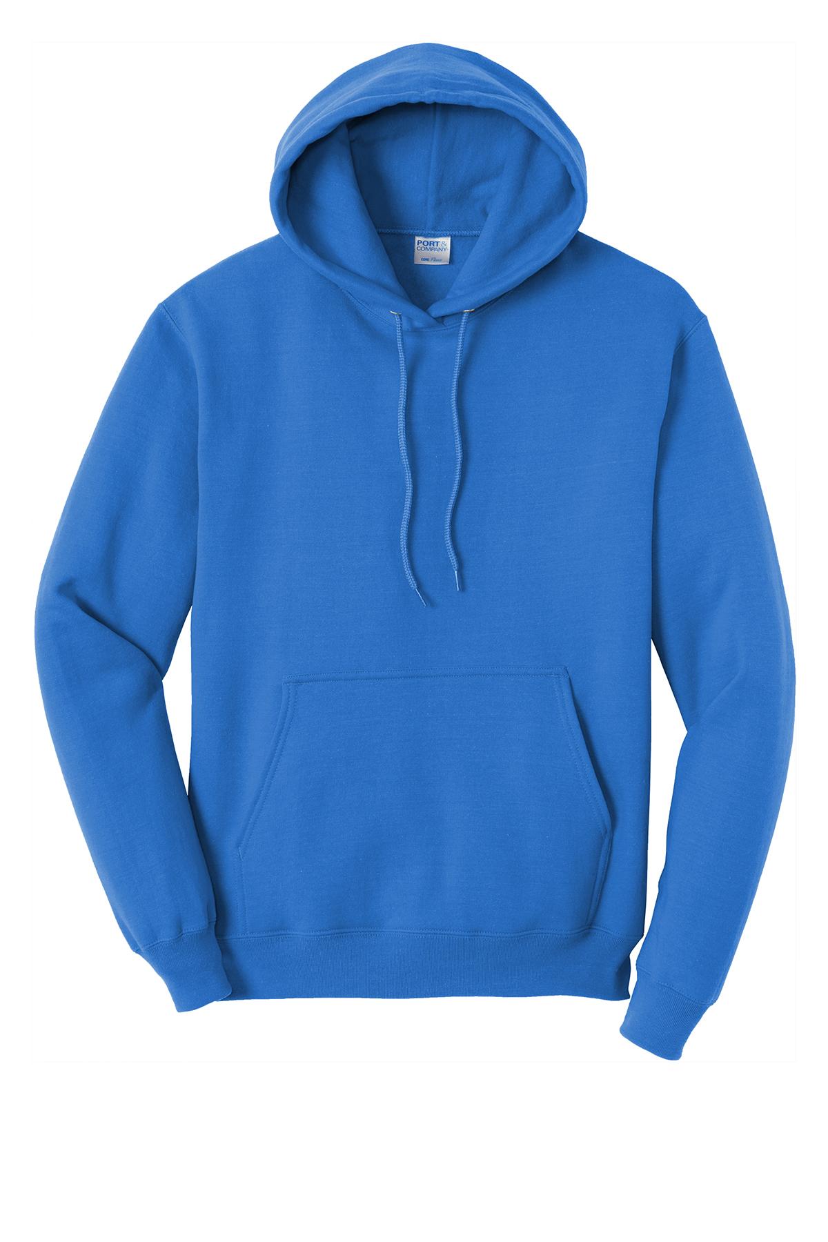 Port & Company ® PC78HT - Tall Core Fleece Pullover ...