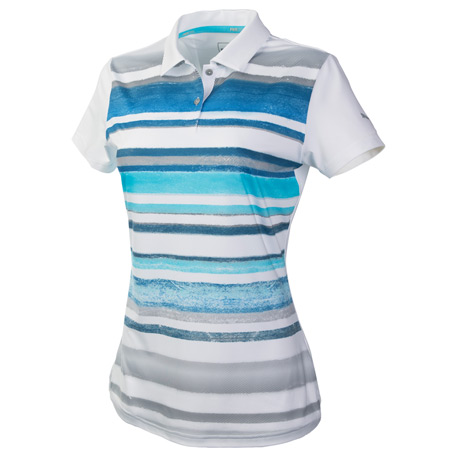 PUMA PA96815 - Women's Washed Stripe Polo PC