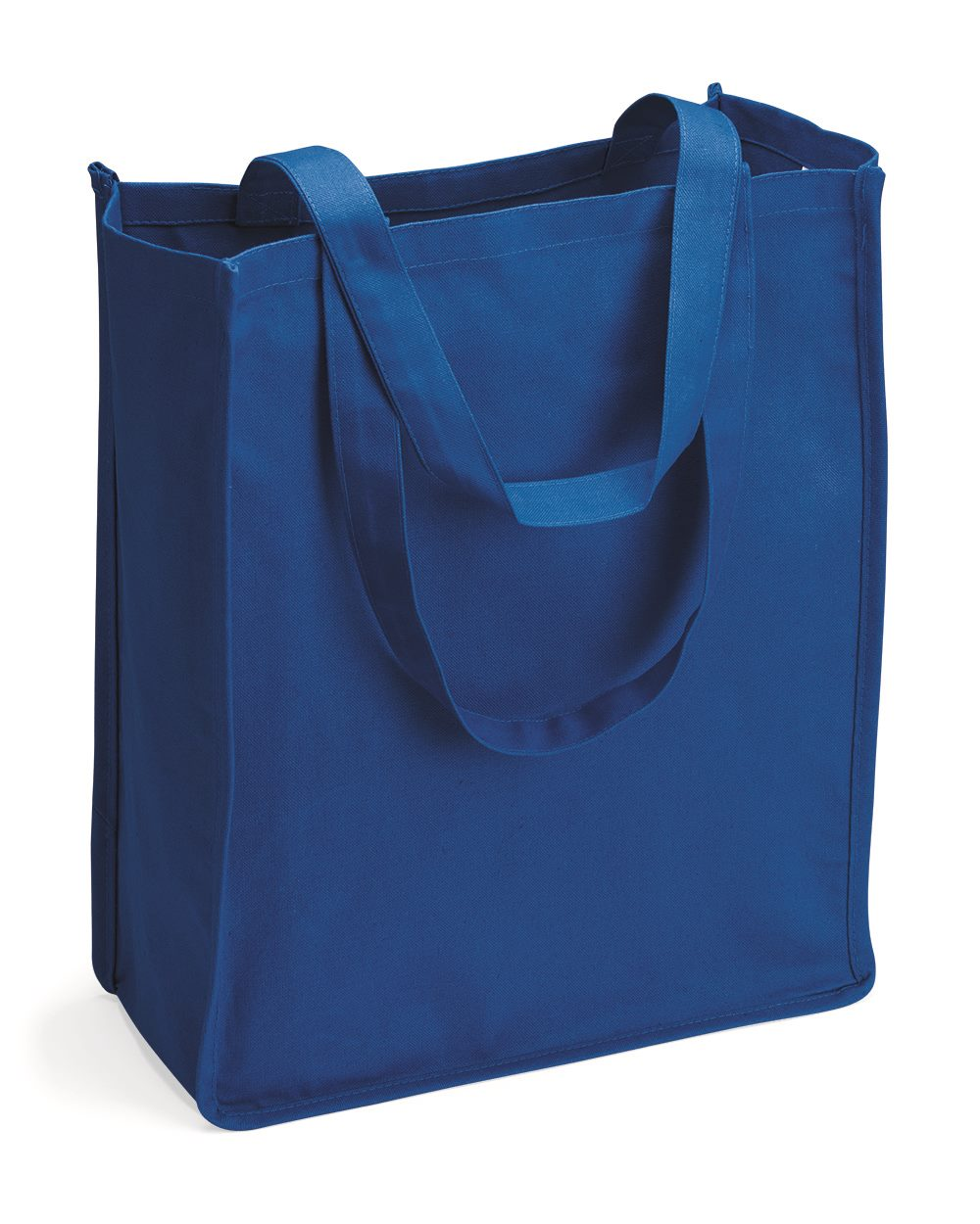 Q-Tees Q125400 - 27.3L Gusseted Jumbo Canvas Shopper